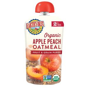 Earth'S Best Organic Apple Peach Oat Meal 120g