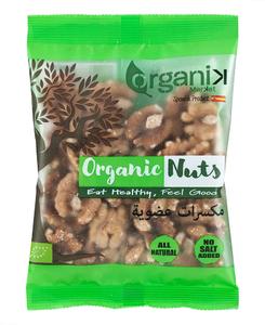 Organik Raw Organic Shelled Walnuts 85g