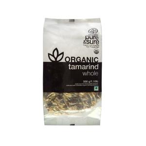 Pure & Sure Organic Tamarind Whole 500g