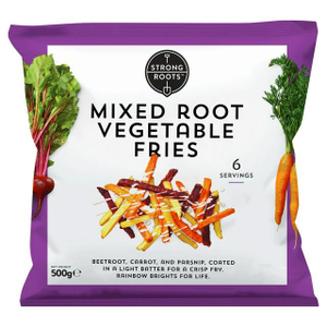 Strong Roots Mixed Root Vegetable Fries 500g