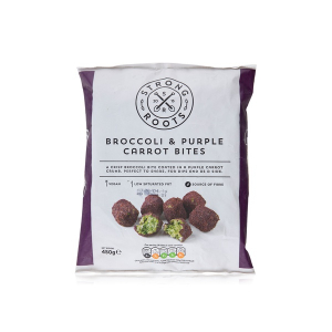 Strong Roots Broccoli & Purple Carrot Bites 450g