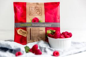 2Be Organic Frozen Raspberry 300g