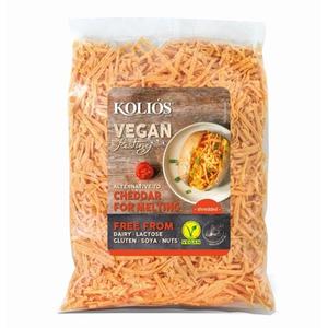Kolios Vegan Cheddar Shredded 12x200g