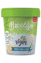 Brooklyn Vegan French Vanilla Bean Ice Cream 450ml