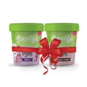 Brooklyn Vegan Berry 3X Ice Cream 450ml