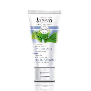 Lavera Organic Ginkgo & Jojoba Pearls Purifying Scrub All Skin Types 50ml