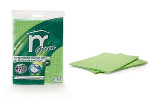Martini 3 Sponge Cloth In Pure Cellulose Green 1pc