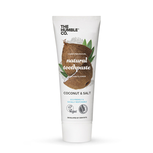 The Humble & Co Toothpaste Contains Fluoride Coconut Flavour & Salt 75ml