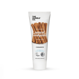 The Humble & Co Natural Toothpaste Contains Fluoride Cinnamon 75ml