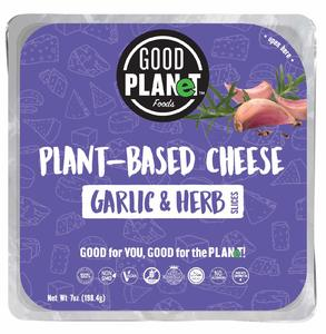 Good Planet Plant Based Garlic & Herb Cheese 10s