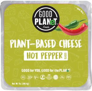 Good Planet Plant Based Hot Pepper Cheese 10s