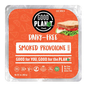 Good Planet Plant Based Smoked Provolone Cheese 10s