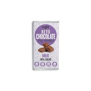 Ingfit Keto Milk Chocolate 28g