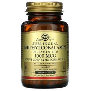 Solgar Sublingual Methylcobalamin Vitamin B12 60pcs