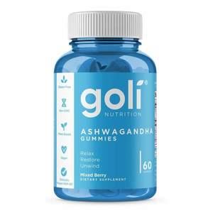 Goli Nutrition Ashwagandha Gummies Mixed Berry 60s