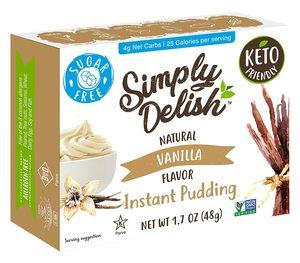 Natural Simply Delish Instant Vanilla Pudding 48g