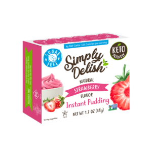 Natural Simply Delish Instant Strawberry Pudding 48g