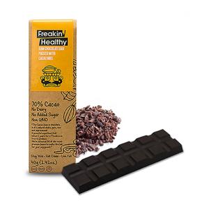 Freakin Healthy Cacao Nibs Raw Chocolate 40g