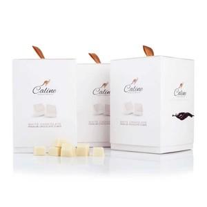 Caline Premium Chocolate Cubes White Chocolate 80g