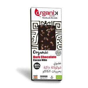 Organik Dark Chocolate Cacao Nibs 50g
