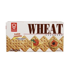 Garden Premium Wheat Crackers 210g