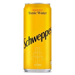 Schweppes Tonic Sleek Can 330ml