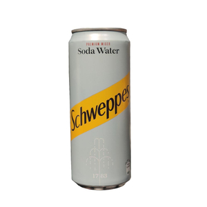 Schweppes Soda Sleek Can 330ml