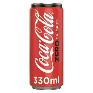 Coca-Cola Zero Sleek Can 330ml