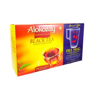 Alokozay Black Tea 100 TB With Mug 200g