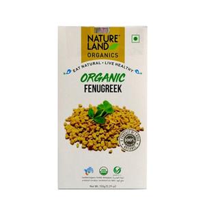 Nature Land Organic Fenugreek Seed 150g