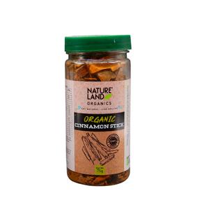 Nature Land Organic Cinnamon Stick 75g