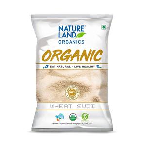 Nature Land Wheat Semolina Suji 500g