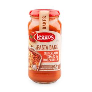 Leggos Pasta Bake Creamy Tomato And Mozzarella 500g