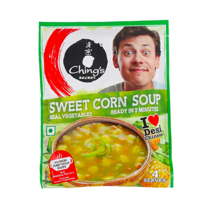 Chings Sweet Corn Instant Soup 55g