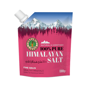 Organic Larder Natural Himalayan Salt 1300g