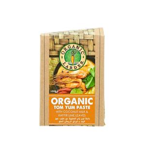 Organic Larder Tom Yum Paste 100g