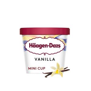 Haagen Dazs Vanilla And Cream Mini Cup 100ml