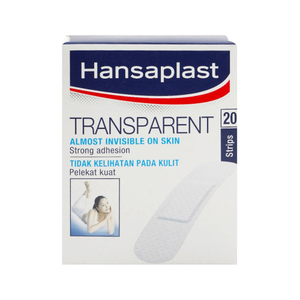 Hansaplast Transparent Strips 20s