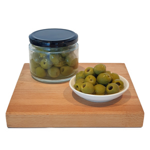 CFF Green Pitted Castelvetrano Olives 200g