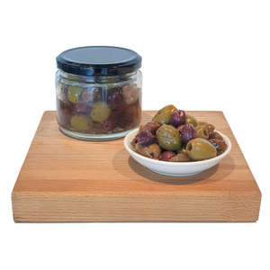 CFF Pitted Leccino Olives in Brine 200g