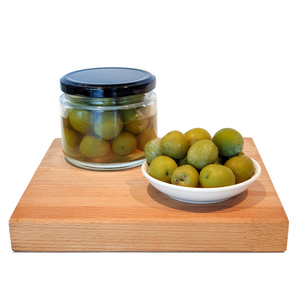 CFF Green Castelvetrano Olives With Seeds 200g