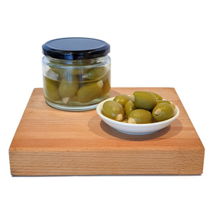 CFF Stuffed Green Olives With Almond 200g