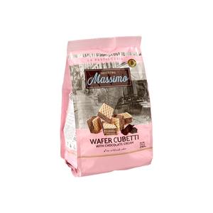Massimoo Wafer Cubetti With Chocolate Cream 250g