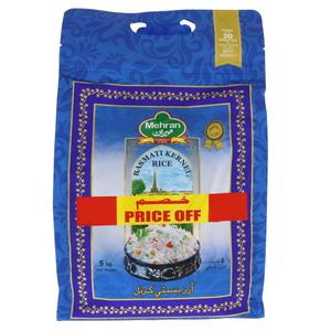 Mehran Basmati Kernel Rice 5kg