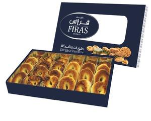 Firas Sweets Kaek Dates Box 500g