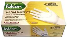 Falcon Latex Gloves 1pc