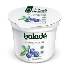 Balade Yogurt Blueberry Low Fat 100g