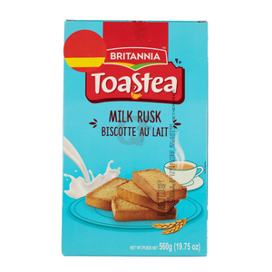 Britannia Milk Rusk + Rainbow Evaporated Milk Powder 670g + 170g