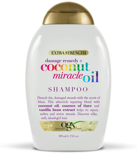 Ogx Extra Strength Damage Coconut Miracle Oil Shampoo 13oz