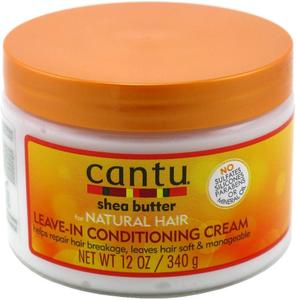 Cantu Natural Leave In Conditioner Cream 340g